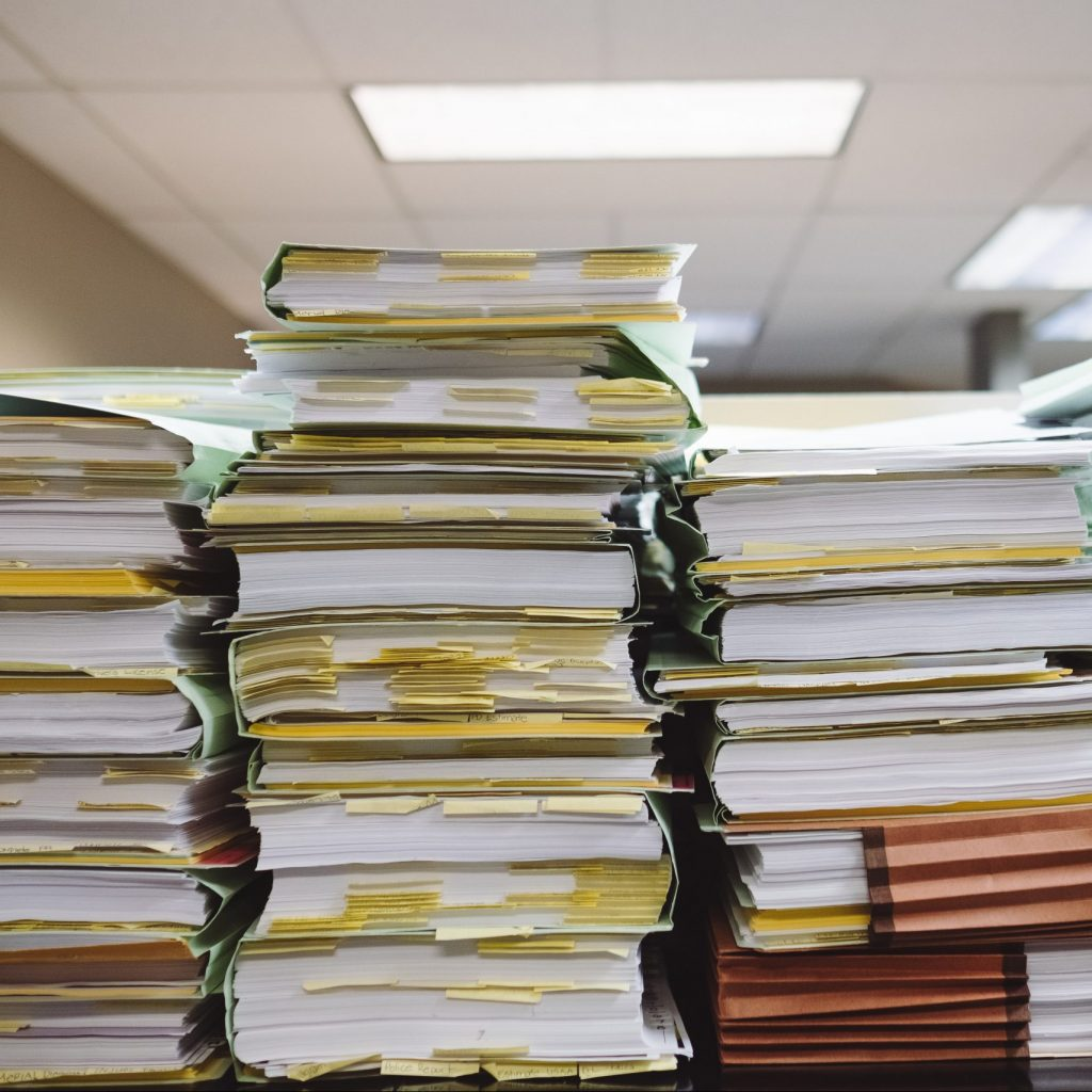 Documents and files